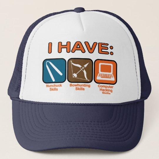 I Have Skills Napoleon Dynamite Trucker Hat
