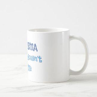 I Have SMA - Blue Coffee Mug