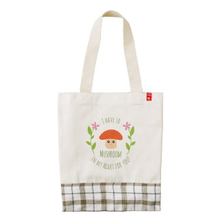 I Have So Mushroom In My Heart For You Pun Humor Zazzle HEART Tote Bag