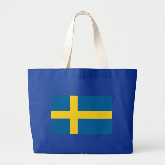 I HAVE SWEDISH ROOTS LARGE TOTE BAG