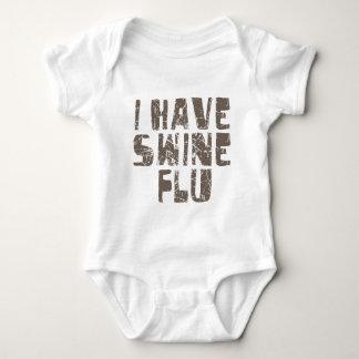 i have swine flu shirts
