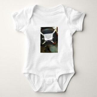 I Have Taken My Barack Obama bumper sticker off Baby Bodysuit