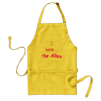 I Have the Allure Adult Apron