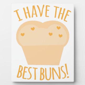I have the best buns plaque