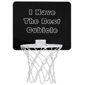 I Have The Best Cubicle. Black White Custom Mini Basketball Hoop