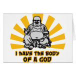 i have the body of a god card