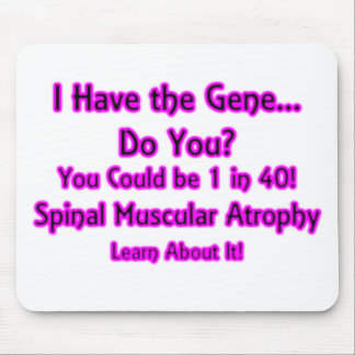 I Have the Gene - Do You? Pink Mouse Pad