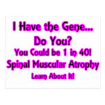I Have the Gene - Do You? Pink Post Card