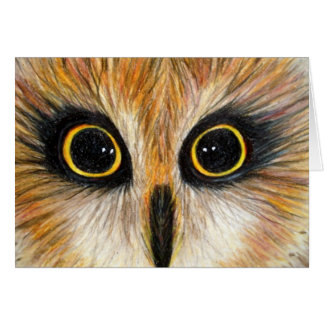 I Have The Hoots For You - Owl Notecard