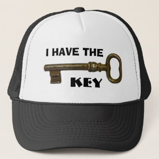 I Have The Key Trucker Hat