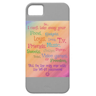 'I have the power' funny picture phone case