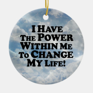 I Have The Power To Change - Multi-Products Christmas Tree Ornaments
