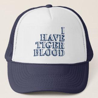 I Have Tiger Blood Trucker Hat