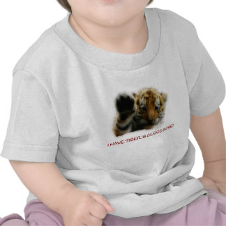 I Have Tiger's Blood In Me(Cub) #1 Tshirts
