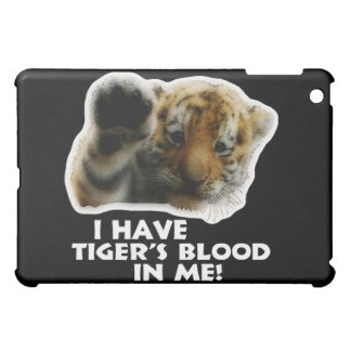 I Have Tiger's Blood In Me(Cub) #2 Cover For The iPad Mini