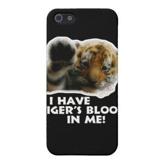 I Have Tiger's Blood In Me(Cub) #2 iPhone 5 Case
