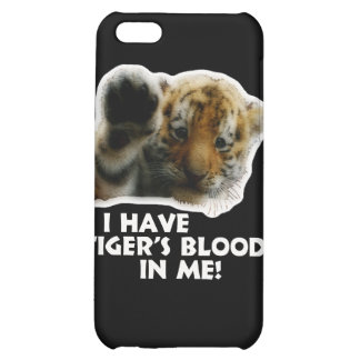 I Have Tiger's Blood In Me(Cub) #2 iPhone 5C Cases