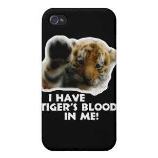 I Have Tiger's Blood In Me(Cub) #2 Case For iPhone 4