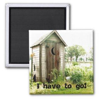 I have to go! Magnet magnet