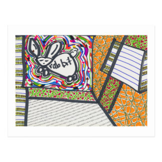 I have to remember I am a rabbit (2014) Postcard