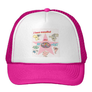 I have travelled the world trucker hat
