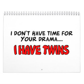 I have Twins Wall Calendars