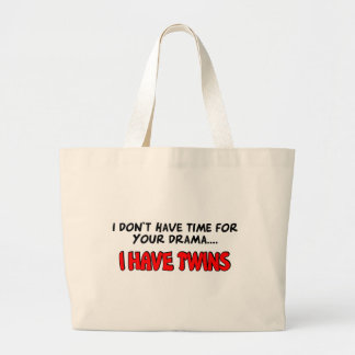 I have Twins Large Tote Bag