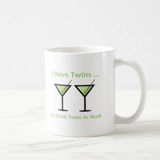 I Have Twins, So I Drink Twice As Much Coffee Mug