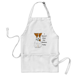 I haven't done any badness today apron