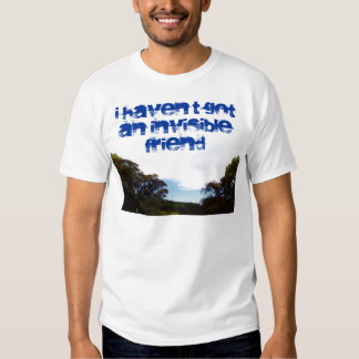 I haven't got an invisible friend shirt