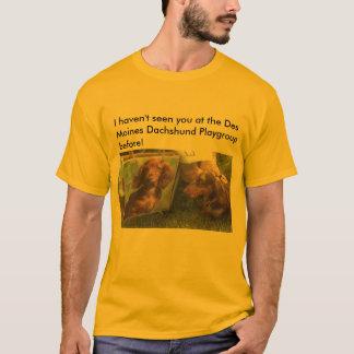 I haven't seen you at the Des Moines Da... T-Shirt