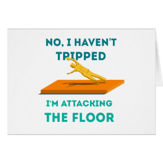 I haven't Tripped Card