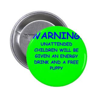 i haye kids pinback button