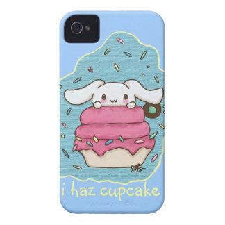 I haz cupcake cute bunny design Case-Mate iPhone 4 cases