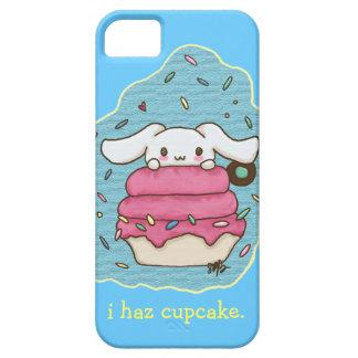 I haz cupcake cute bunny design iPhone 5 covers