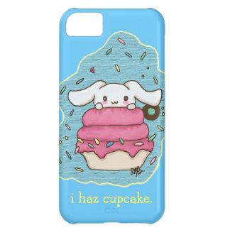 I haz cupcake cute bunny design case for iPhone 5C