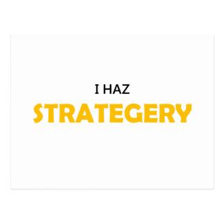 I Haz Strategery Postcard