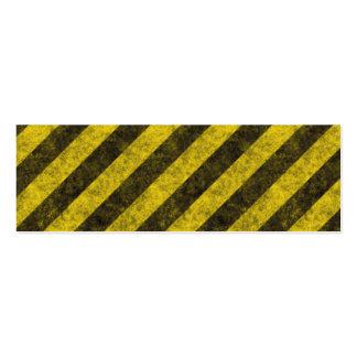 i hazard stripes copy2 business cards