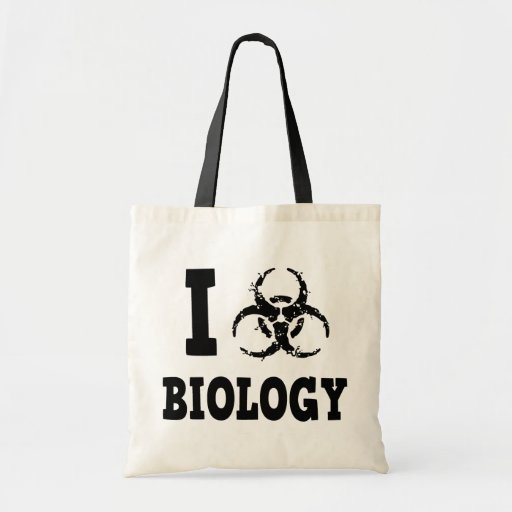 I Hazz Biology Canvas Bags