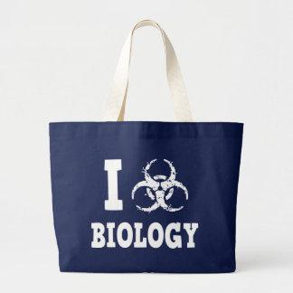 I Hazz Biology Large Tote Bag