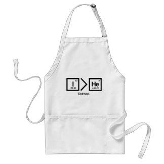 I > He apron