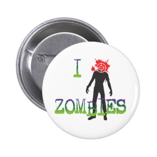 I Headshot Zombies 2 Inch Round Button