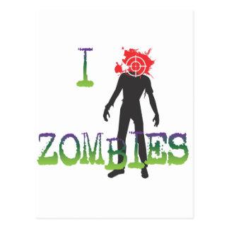 I Headshot Zombies Postcard