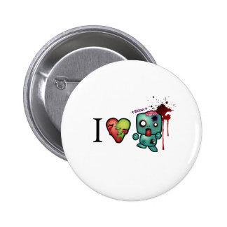 I Headshots del corazón Pins