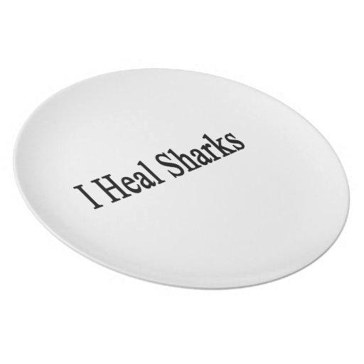 I Heal Sharks Plate