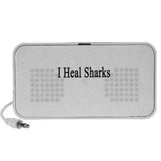 I Heal Sharks Portable Speakers