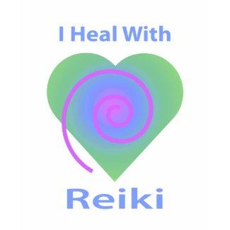 I Heal with Reiki shirt