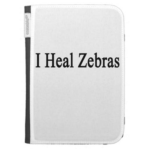 I Heal Zebras Kindle Folio Cases