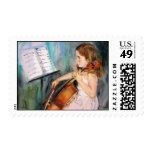 I Hear a Symphony Postage Stamp