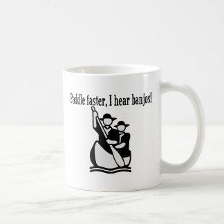 I Hear Banjos Classic White Coffee Mug